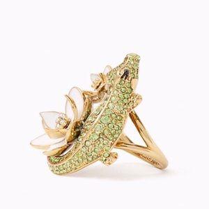Kate Spade Swamped Alligator Ring